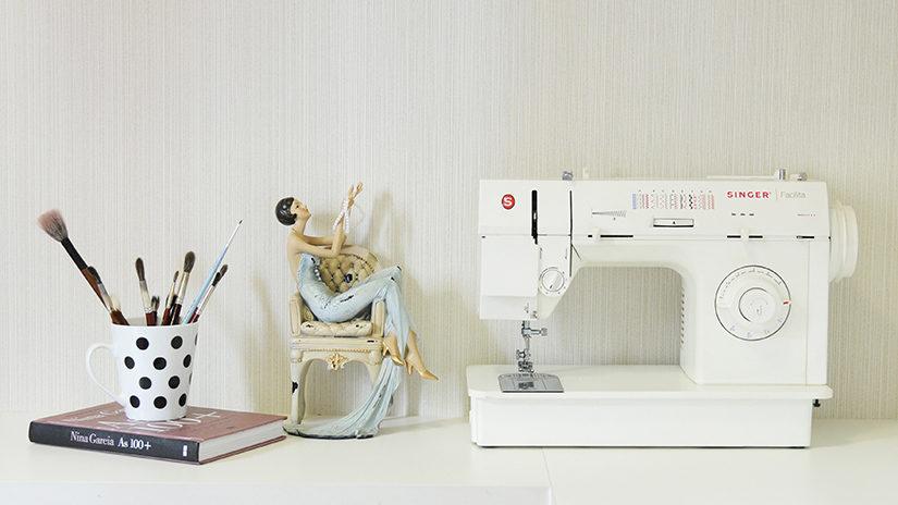 máquina, coser