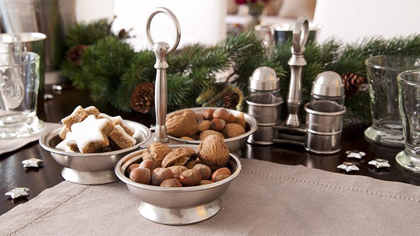 centro de mesa, casa, navidad