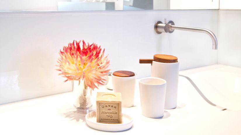 salle de bain, accessoires de salle de bain, soins, savon de marseille