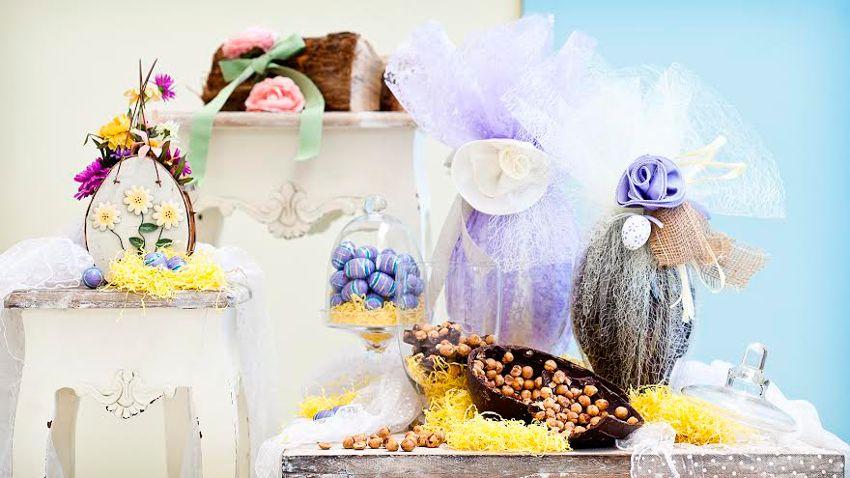 Déco pour Pâques et chocolats