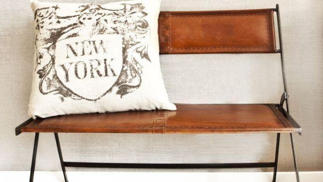 Banc le meuble qui sublime votre maison westwing - Banc de cuisine avec dossier ...