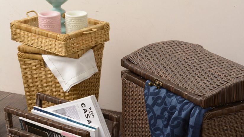 panier linge ventes priv es westwing. Black Bedroom Furniture Sets. Home Design Ideas