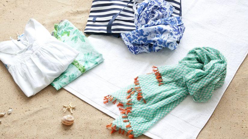 Sac de plage coton de style marin