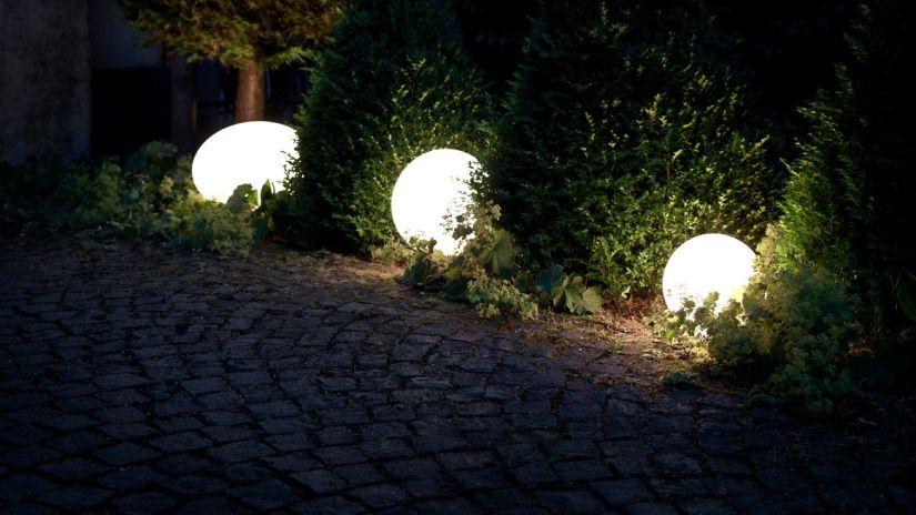 eclairage de terrasse, lampe led, éclairage extérieur