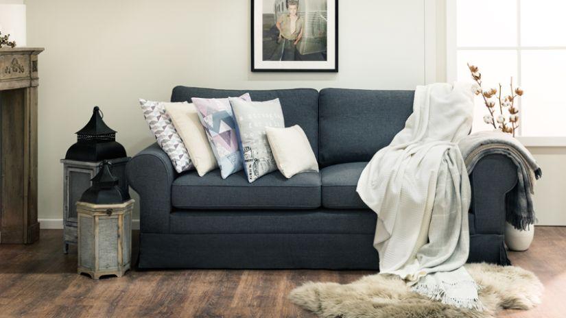 Jeté de canapé de grande taille