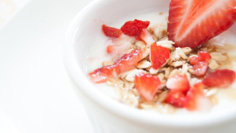 Bol de céréales pour le petit déjeuner