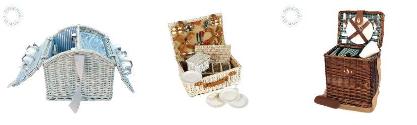 Panier picnic romantique
