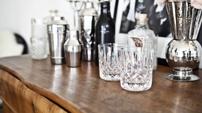 Shaker en inox pour cocktail