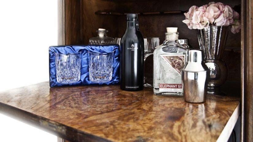 Shaker en métal pour cocktail