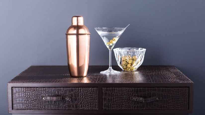 Verre pour cocktail en verre