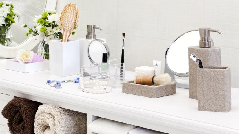 Distributeur de savon en marbre
