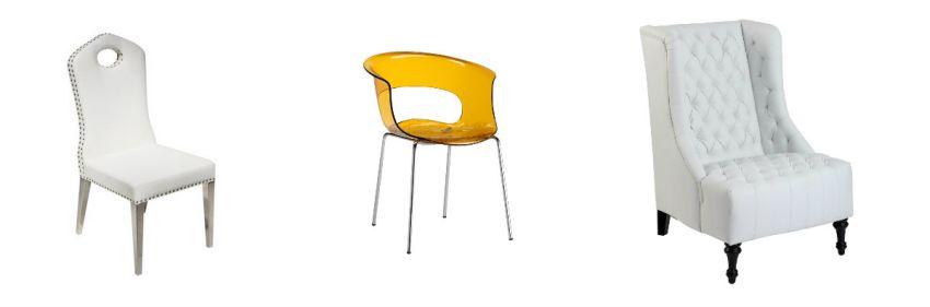 Chaises et fauteuils de style italien