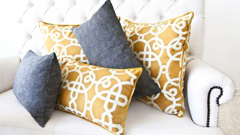 Coussins pour canapé de salon