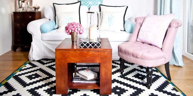 fauteuil crapaud, tissu rose, fauteuil en tissu rose