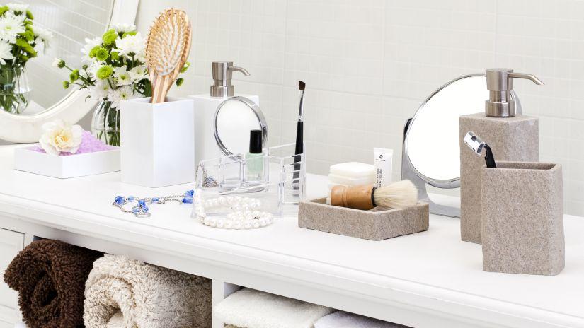 miroir de maquillage, miroir de maquillage sur pied