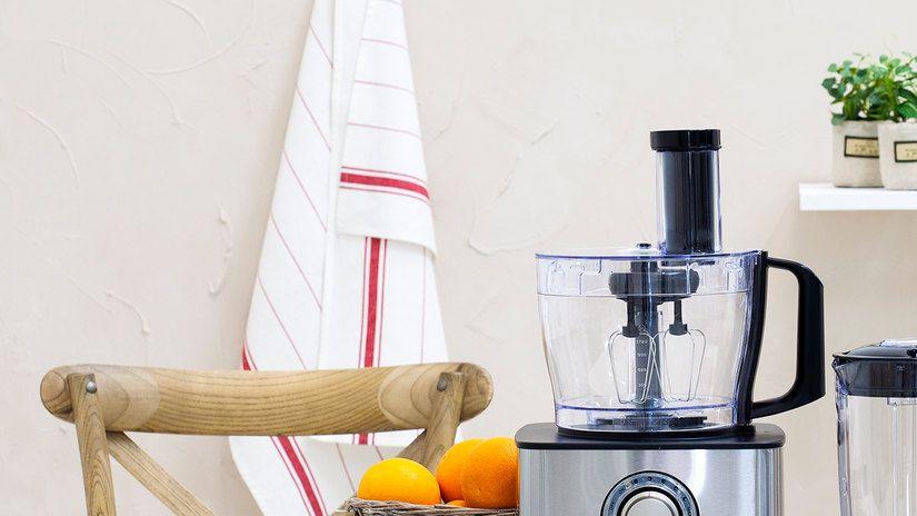 accroche torchon, robot de cuisine