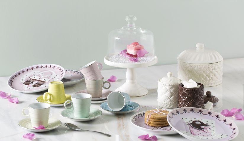 Petite cloche en verre pour les gâteaux