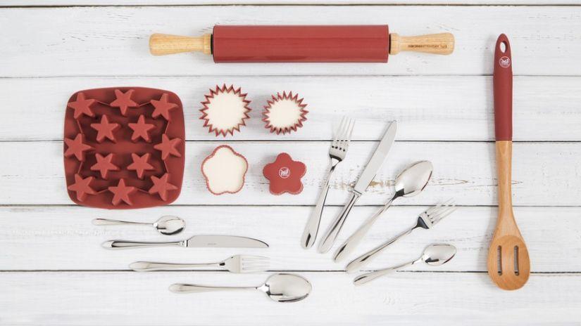 Rouleau à pâtisserie bois et silicone