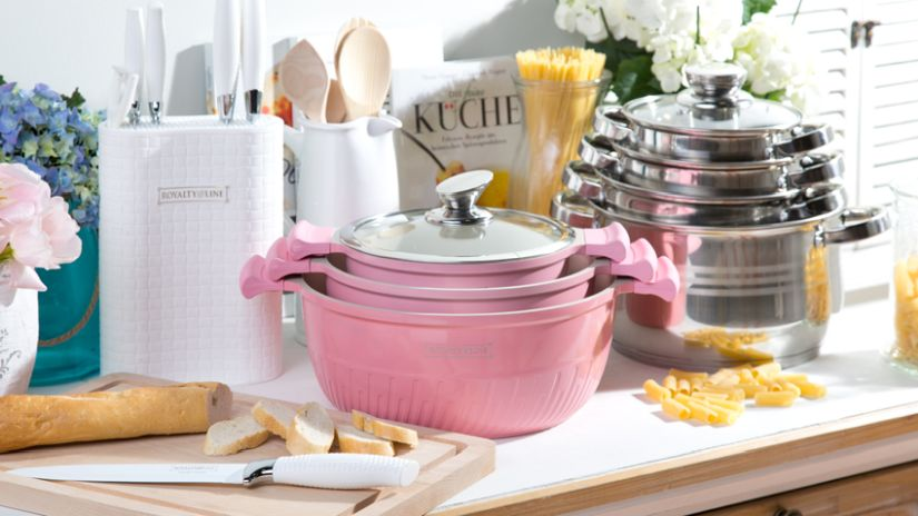 Set de casseroles pour induction