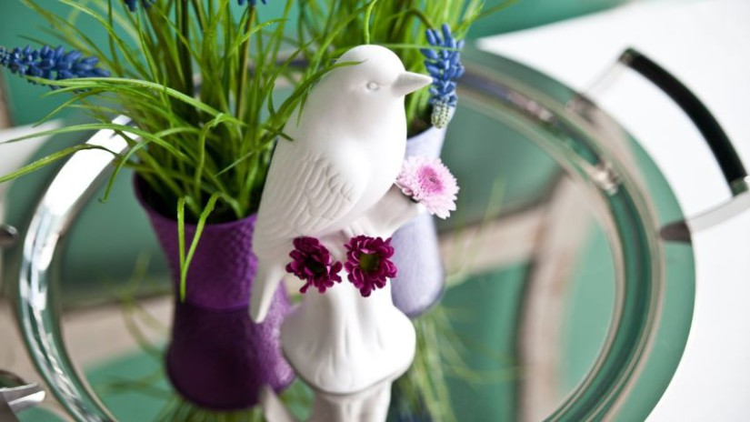 abreuvoir oiseaux, abreuvoir pour oiseaux, pot de fleur