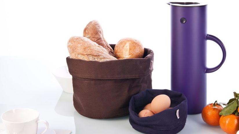 boîte à pain, corbeille à pain, boîte en tissu