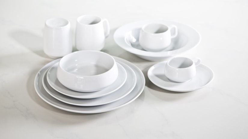 Joli bol à soupe blanc
