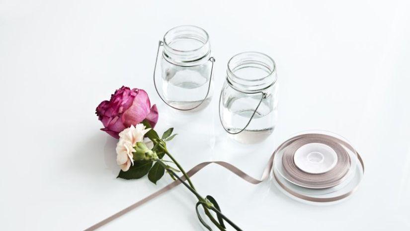 Fleurs pour centre de table