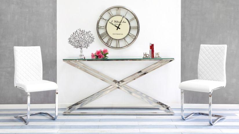 Chaise blanche ventes priv es westwing - Ventes privees mobilier contemporain chez westwing ...