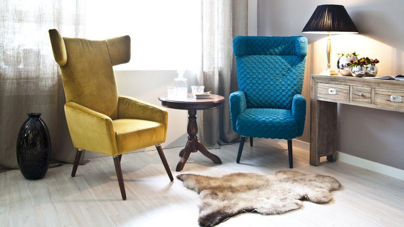 fauteuil bleu p trole ventes priv es westwing. Black Bedroom Furniture Sets. Home Design Ideas