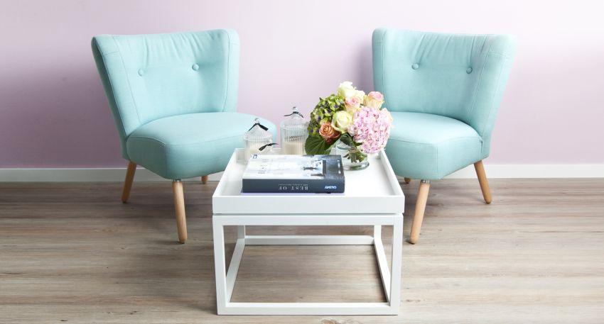 Fauteuil turquoise ventes priv es westwing for Fauteuil pour petit salon