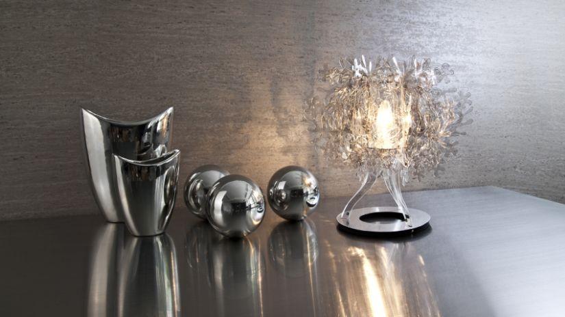 Vases design argentés