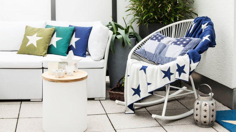chaise acapulco blanche design