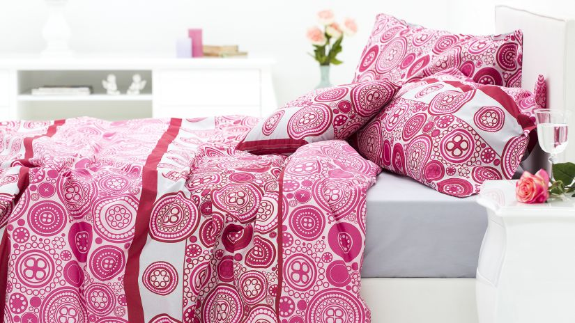 perfect housse de couette rose housse de couette rose fuchsia with housse de couette style indien. Black Bedroom Furniture Sets. Home Design Ideas