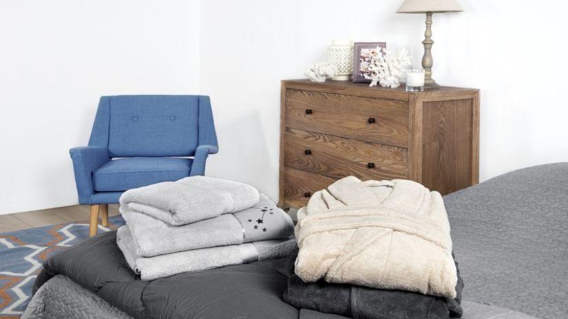 Petit fauteuil vintage bleu