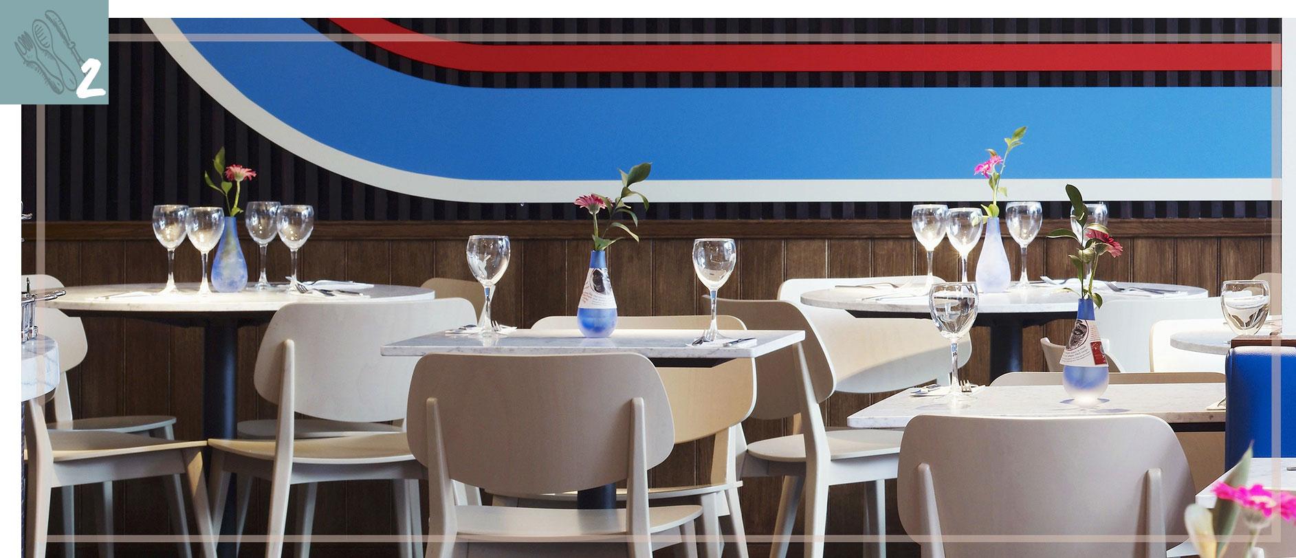 des restaurants aussi beaux que bons, déco rétro