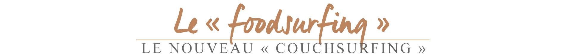 foodsurfing, tendance foodsurfing
