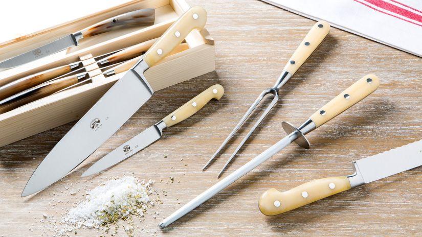 couteaux, couteau à viande, couteau electrique