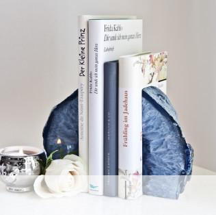 serre-livres en pierre