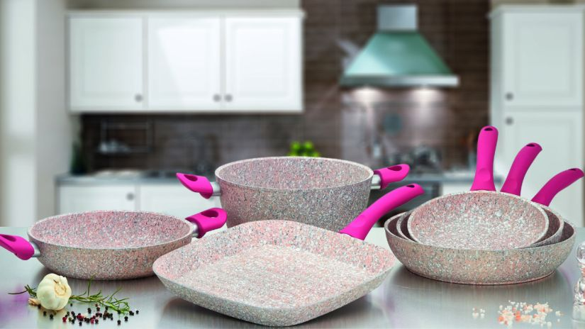 Stonerose une touche de rose en cuisine westwing for Cuisine en rose