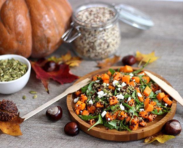 Salade-potiron