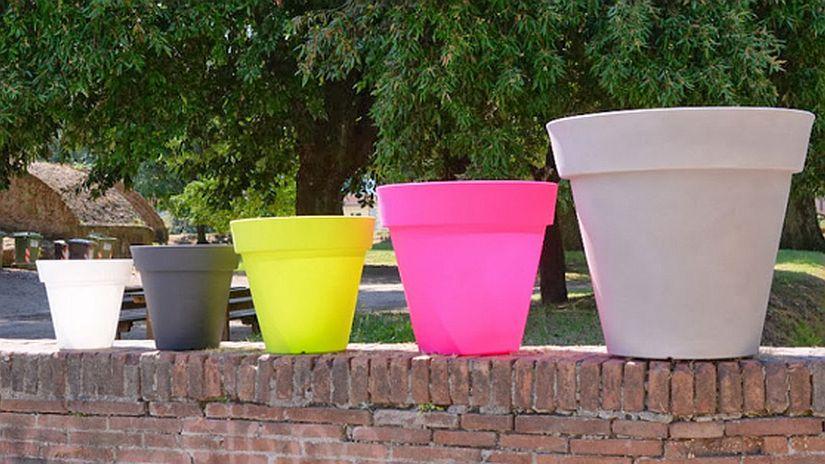 farmet new, vases lumineux