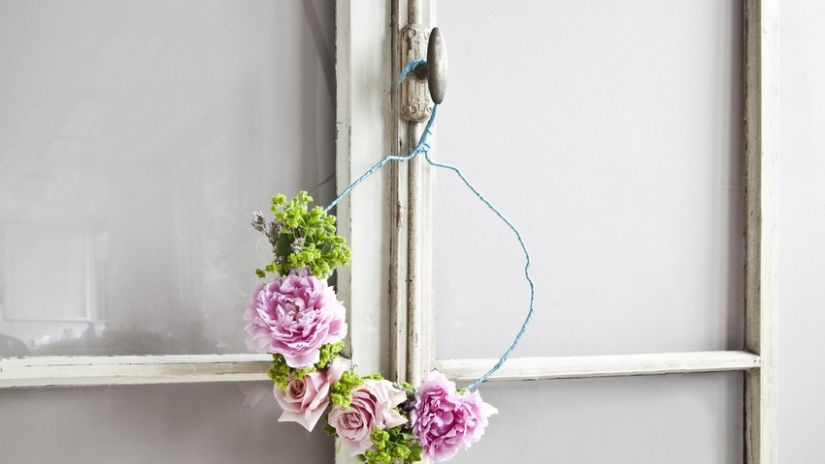Couronne de porte d corative ventes priv es westwing for Decorazioni porta ingresso