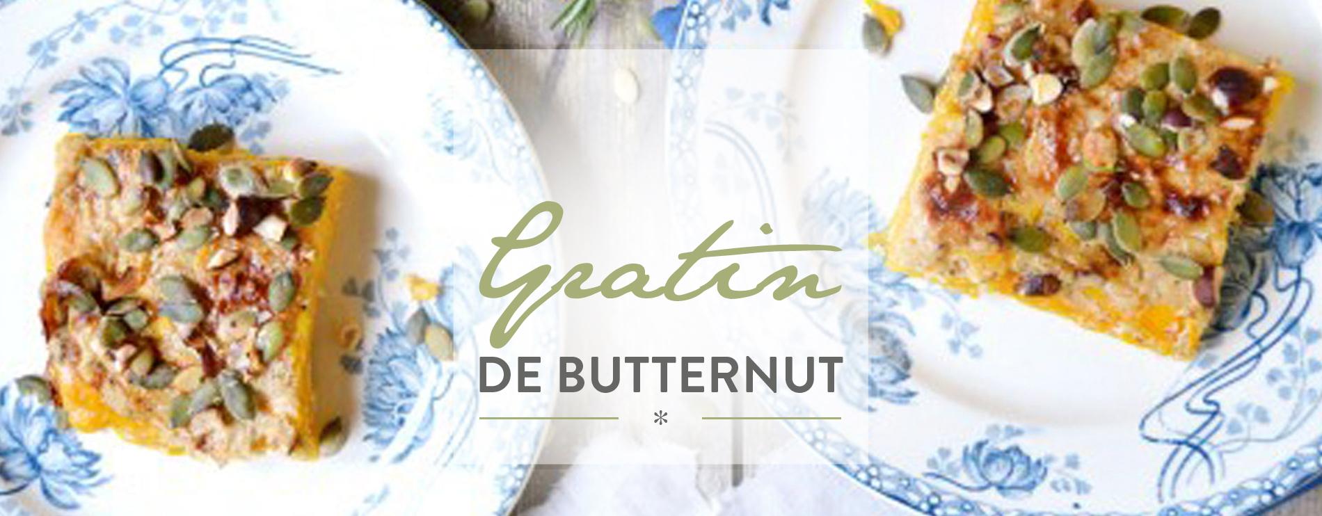 Gratin de butternut