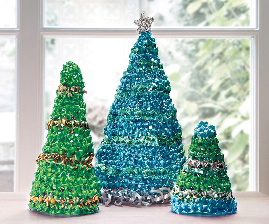 Sapin de Noël bolduc