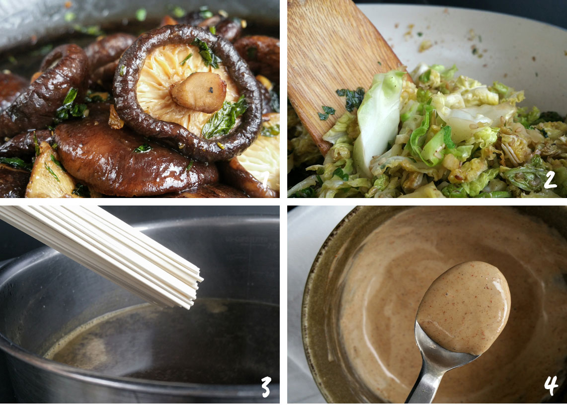 Veggie bowl d'automne
