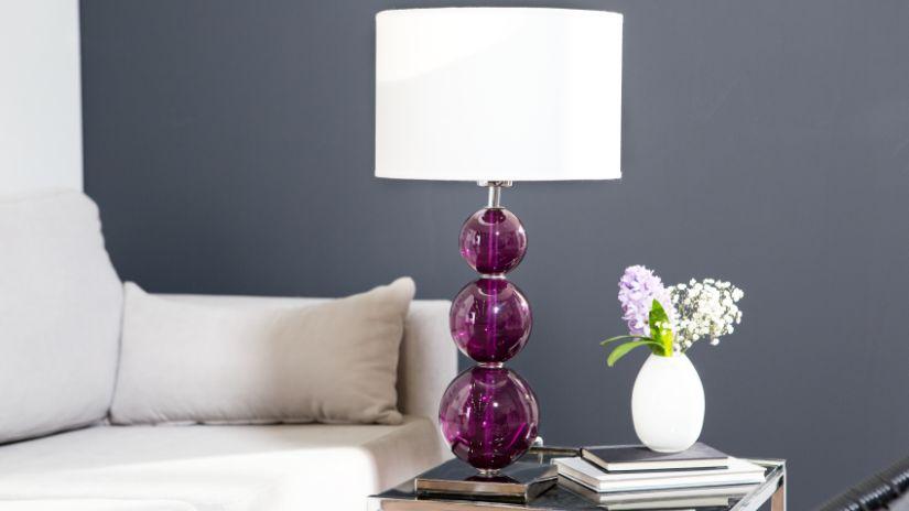 Lampe violette originale