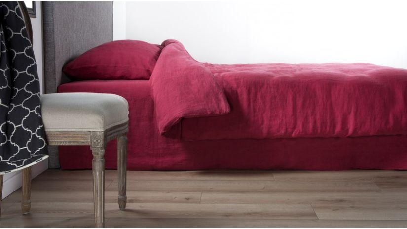 trouvez votre housse de couette bordeaux westwing. Black Bedroom Furniture Sets. Home Design Ideas