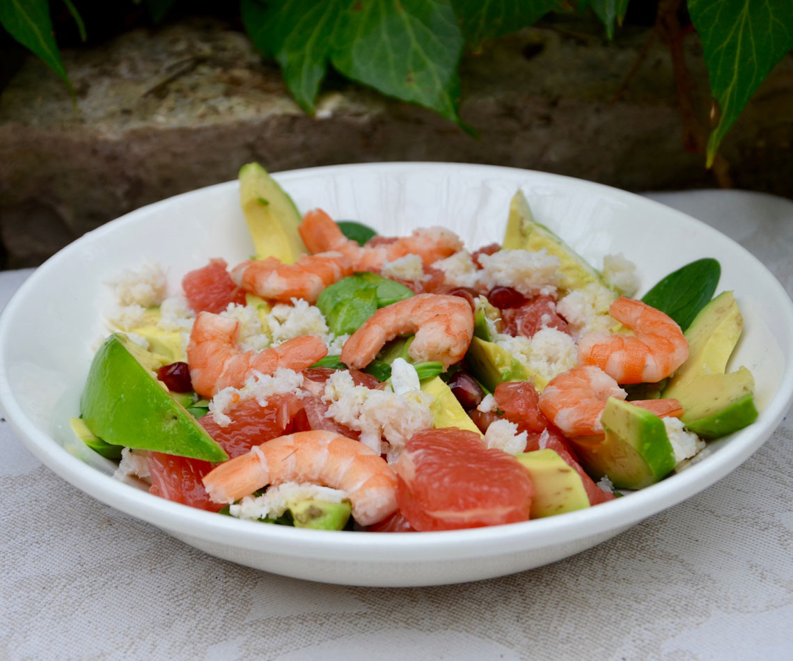 résuiltat final de la salade