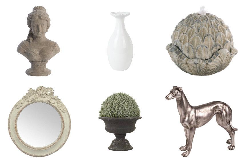 Accessoires de décoration de style haussmannien