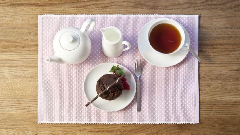 Tasse à thé blanche
